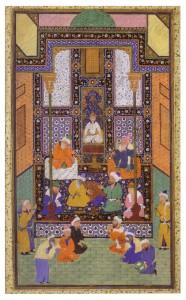 L'idole de Somnâth, école de Bokhârâ, Khanat Sheybanide, vers 1553-1554