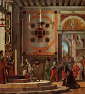 Vittore Carpaccio, Le départ des ambassadeurs anglais, Gallerie dell'Accademia, 1498