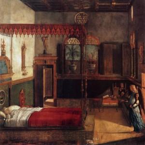 Vittore Carpaccio, Le rêve de Ste Ursule, Gallerie dell'Accademia, 1495