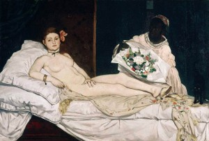 Edouard Manet, Olympia, Musée d'Orsay, 1863