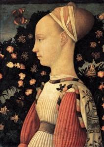 Pisanello, Princesse de la maison d'Este, 1436-38, Musée du Louvre
