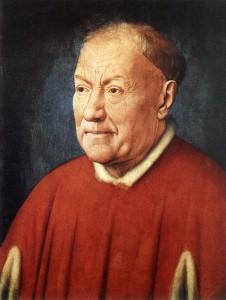 Jan Van Eyck, Portrait du cardinal Niccolo Albergati, 1431-32, Kunsthistorisches Museum