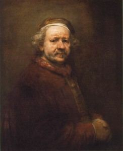 Rembrandt van Rijn, Autoportrait, 1669, National Gallery, London