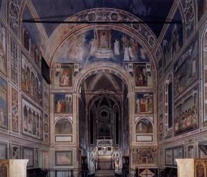 Giotto, fresques de la chapelle Scrovegni, 1304-06, Padoue