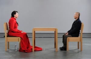 Marina Abramovic, The Artist is present, MoMA, 2010