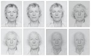 Roman Opalka, Autoportraits, 1965-2013