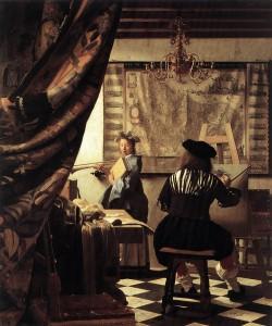 Johannes Vermeer, l'Art de la peinture, 1665-67, Kunsthistorisches Museum, Vienne