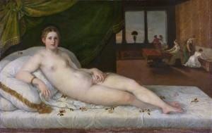 Lambert Sustris, Vénus couchée, 1538-43, Amsterdam, Rijksmuseum